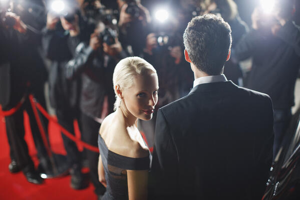 Woman on red carpet - JConnelly Blog - The Opportunities and Dangers of Your Own Fiji Water Girl