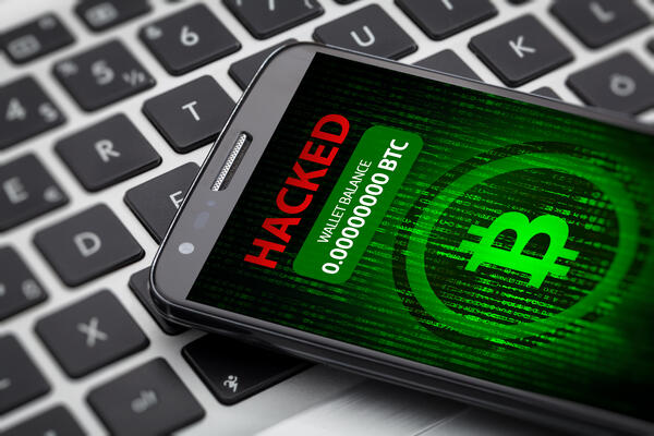 Hacked phone - JConnelly Blog - Will 2019 Be the Year of Cryptocurrency?