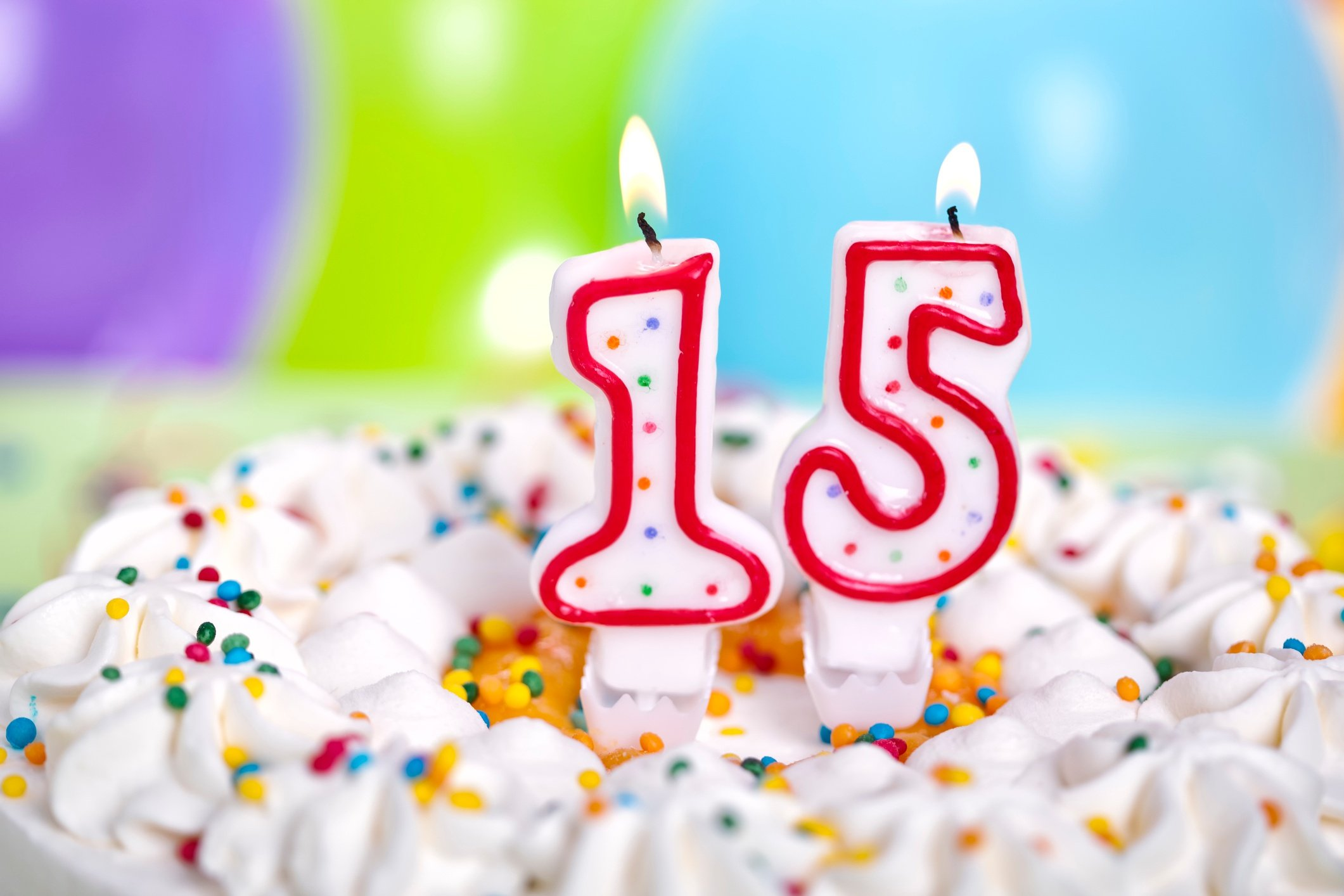 Birthday cake- JConnelly Blog - 15 Ways Communications has Changed in the Past 15 Years