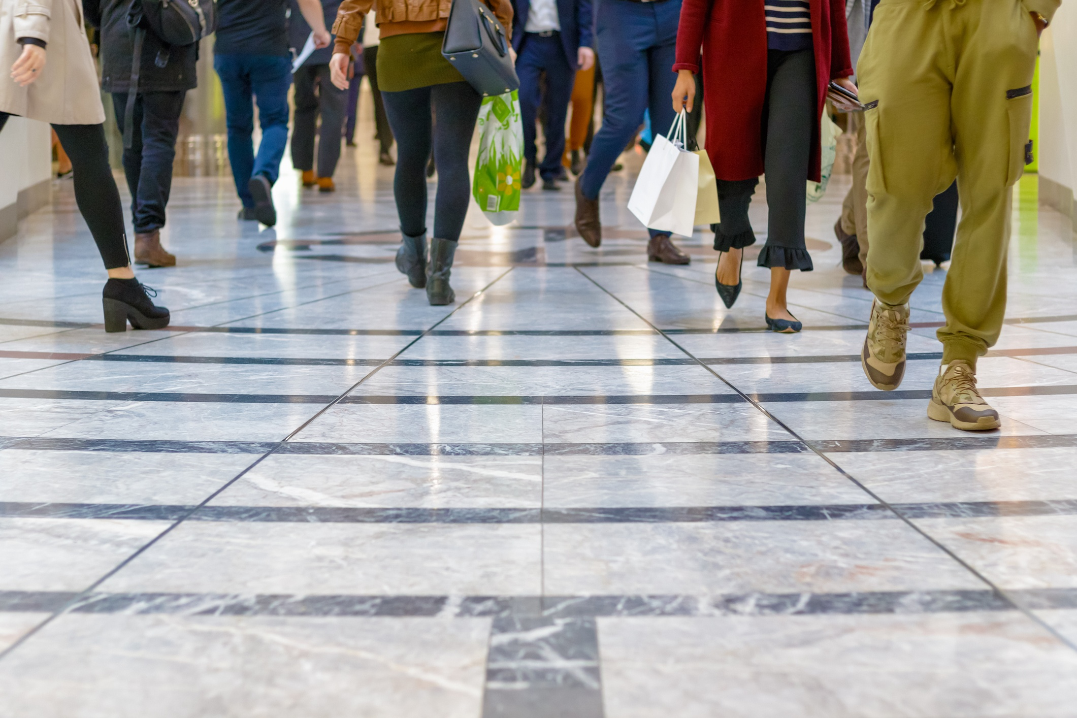 Crowded Mall- JConnelly Blog- Buyer Persona Mistakes to Avoid
