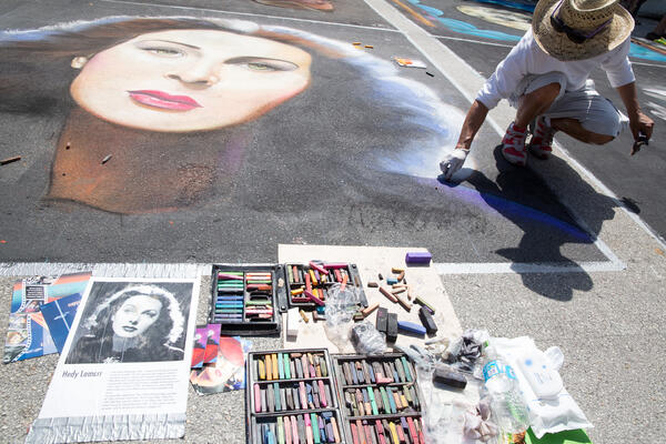 Chalk art street artist - JConnelly Blog Things to Consider Before Launching a Fintech Solution