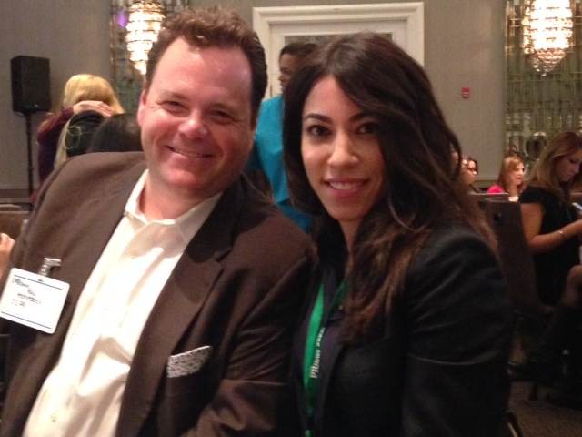 Jennifer Connelly and Ray Hennessey at the PR News Top Women in PR Luncheon