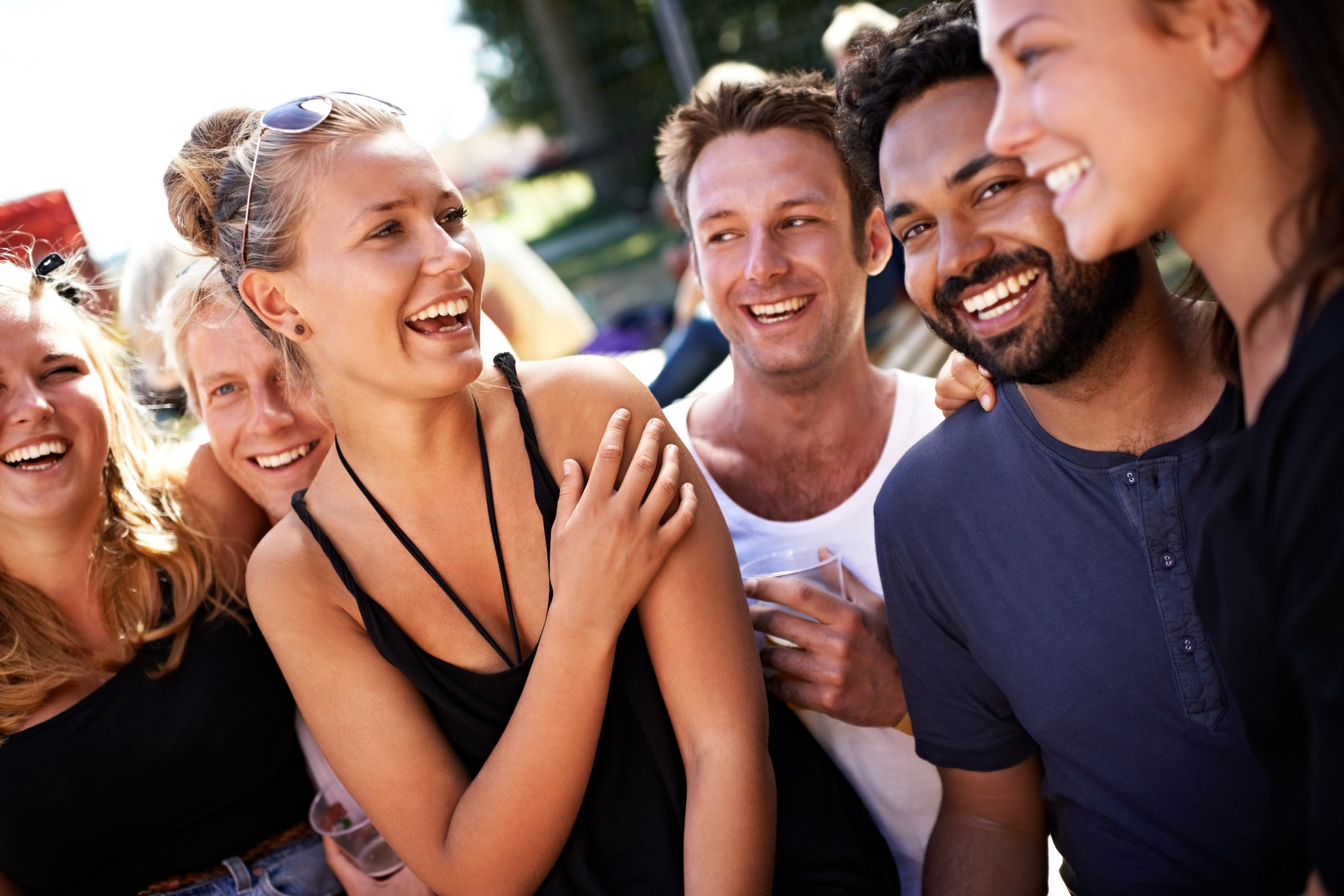 Laughter and humor have been shown to have positive effects on people, and can help boost your public image..jpg
