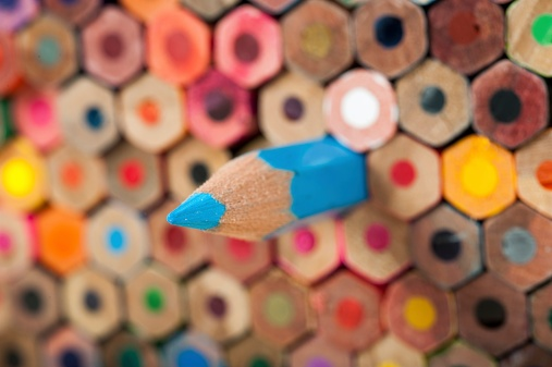 Colored Pencils- JConnelly blog- how to promote your firm with compelling viewpoints