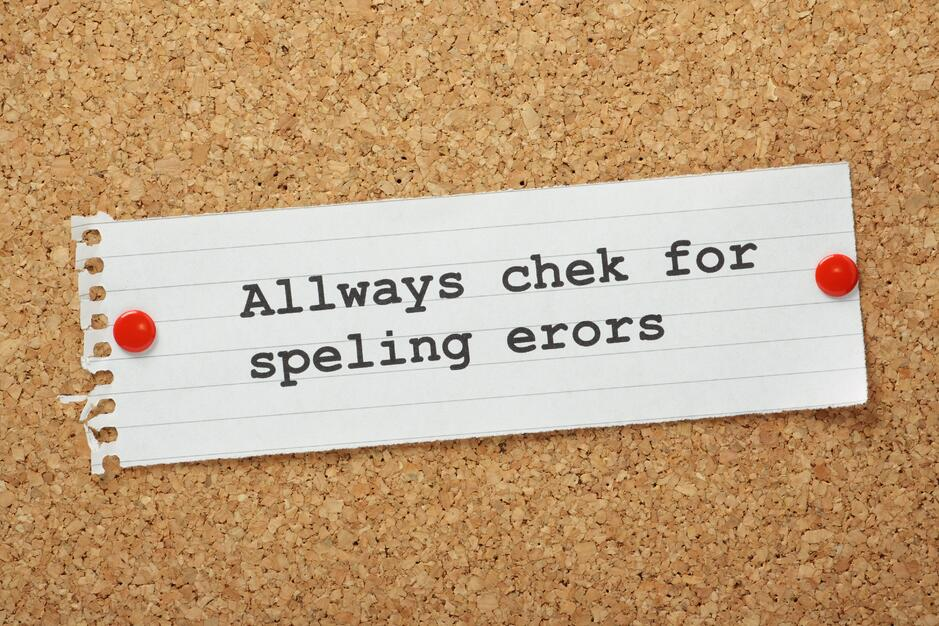 Misspelled words and other typos can damage your brand and image much more than you think. .jpg