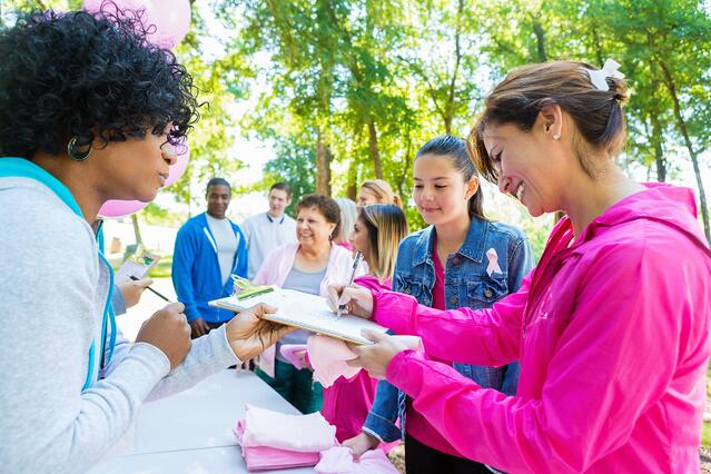 People signing up for breast cancer race- how cause marketing can work for your brand.jpg