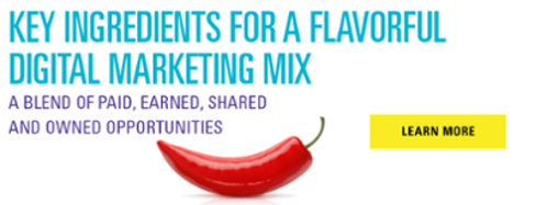 Key Ingredients for a Flavorful Digital Marketing Mix- JConnelly ebook