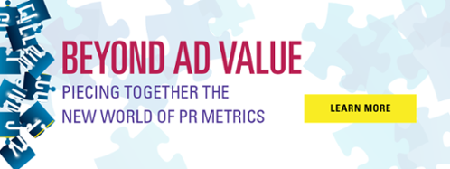 Beyond Ad Value: Piecing Together the New World of PR Metrics